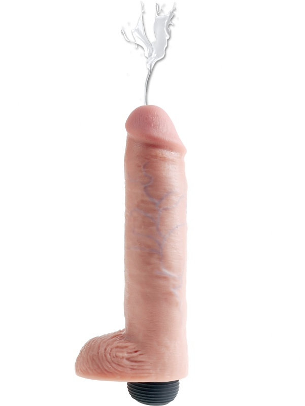 Pipedream: King Cock, Squirting Cock with Balls, 10 tum