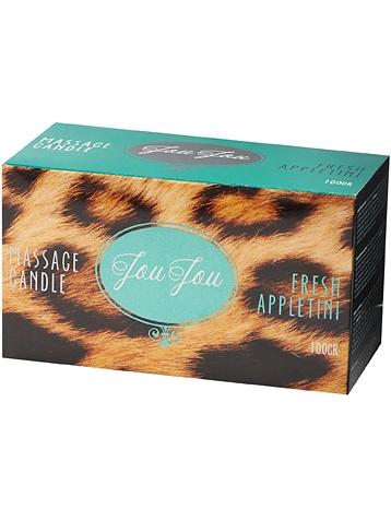JouJou: Massage Candle, Fresh Appletini