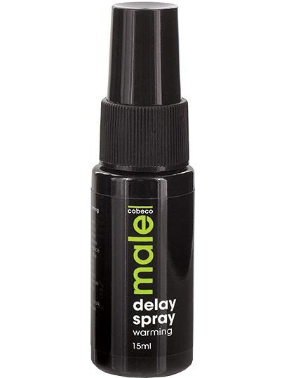 Cobeco: Male, Delay Spray, Warming, 15 ml