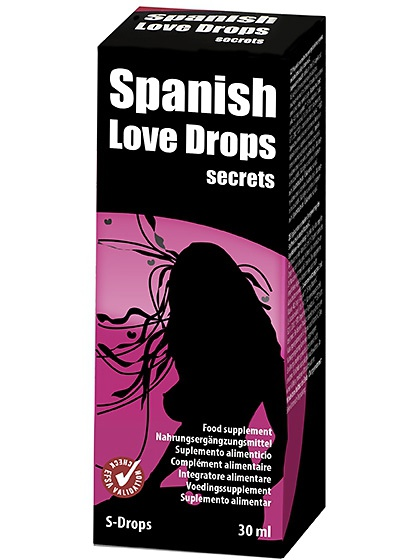 Cobeco: Spanish Love Drops, Secrets, 30 ml