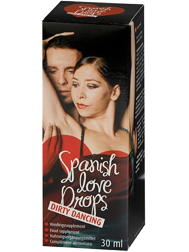 Cobeco: Spanish Love Drops, Dirty Dancing, 30 ml