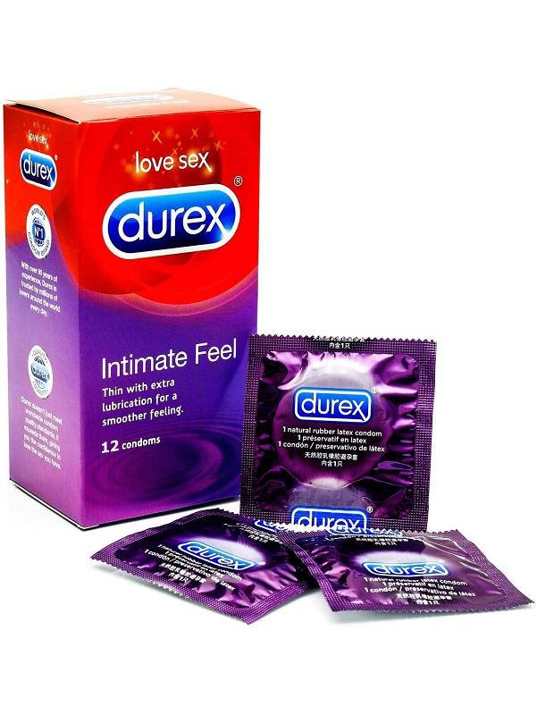Durex Intimate Feel: Kondomer, 12-pack