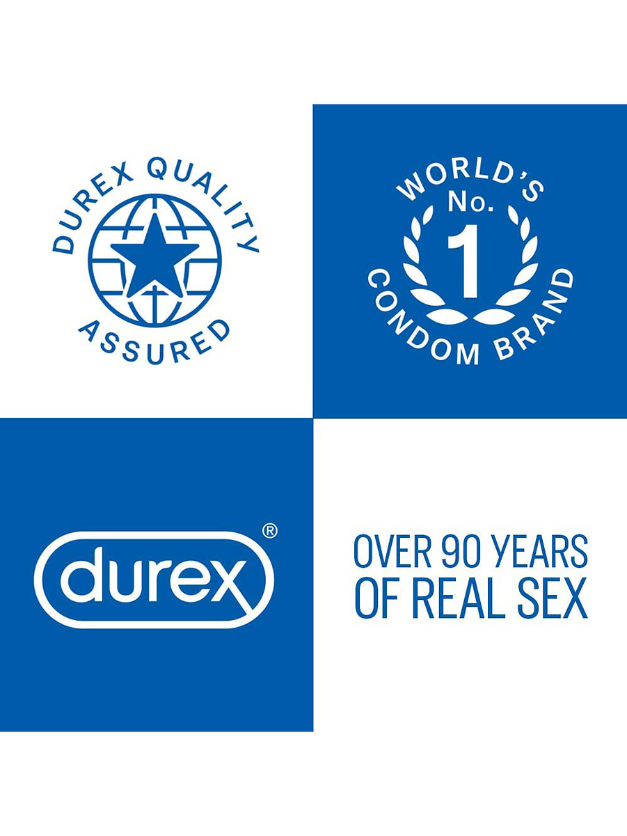 Durex Pleasure Me: Kondomer, 12-pack