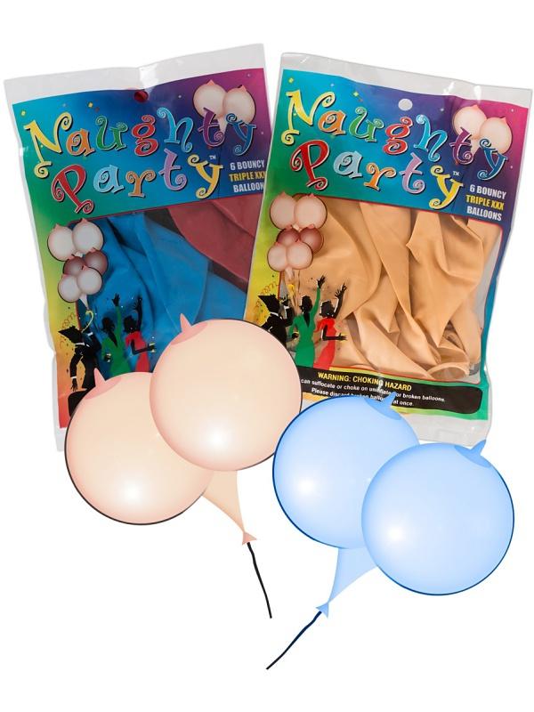 Orion: Bröstballonger, 6-pack