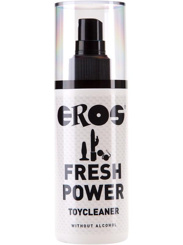 Eros: Fresh Power Toycleaner, 125 ml | Rengöring av leksaker | Intimast.se - Sexleksaker
