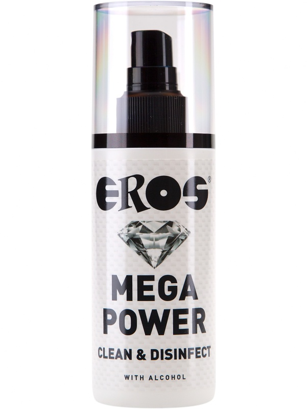 Eros: Mega Power Clean & Disinfect, 125 ml