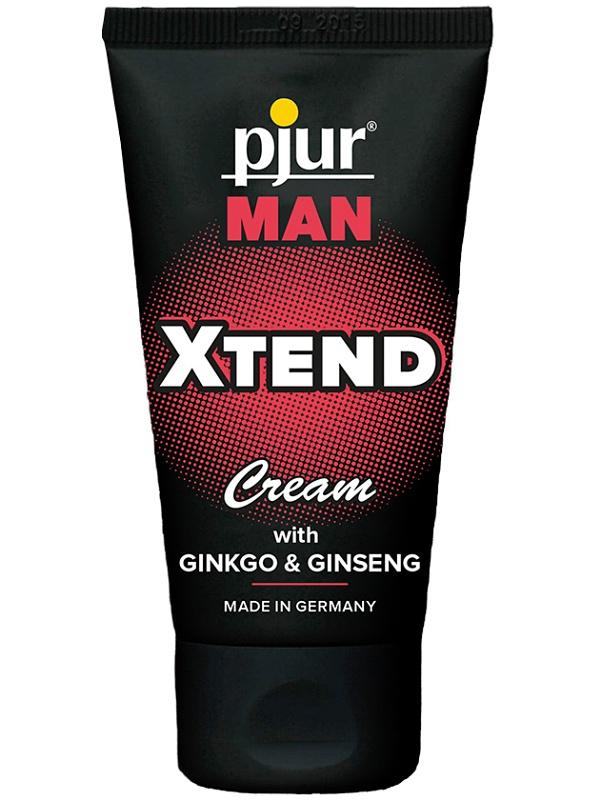 Pjur Man: Xtend Cream, 50 ml | För honom | Intimast.se - Sexleksaker