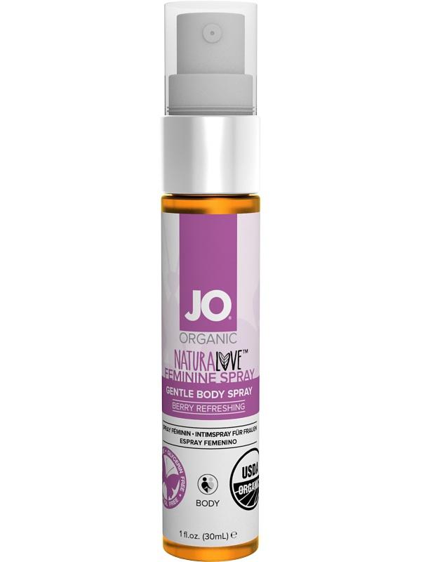 System JO: Organic Naturalove, Feminine Spray, 30 ml