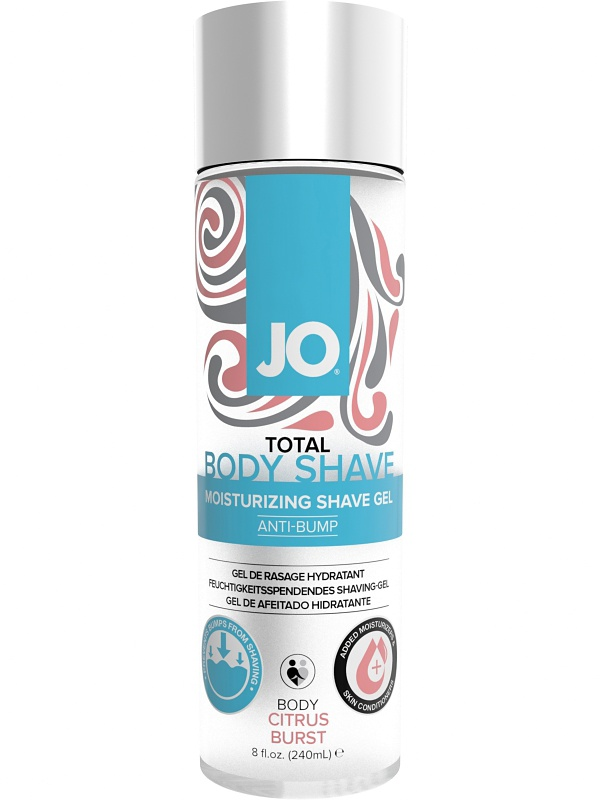System JO: Total Body Shave, Citrus Burst, 240 ml
