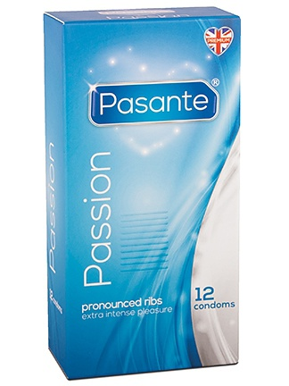 Pasante Passion: Kondomer, 12-pack