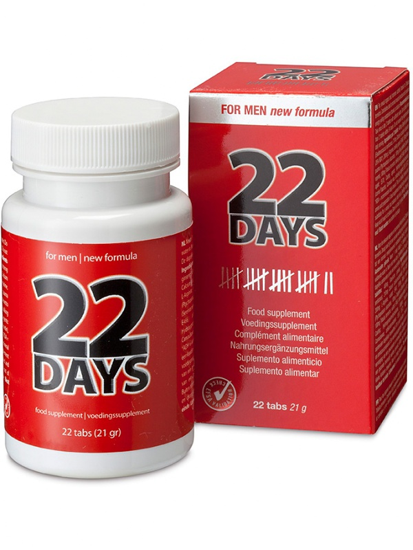22 Days: Penis Extension, 22 tabletter