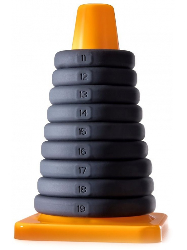 Perfect Fit: Play Zone, 9 Xact-Fit Rings