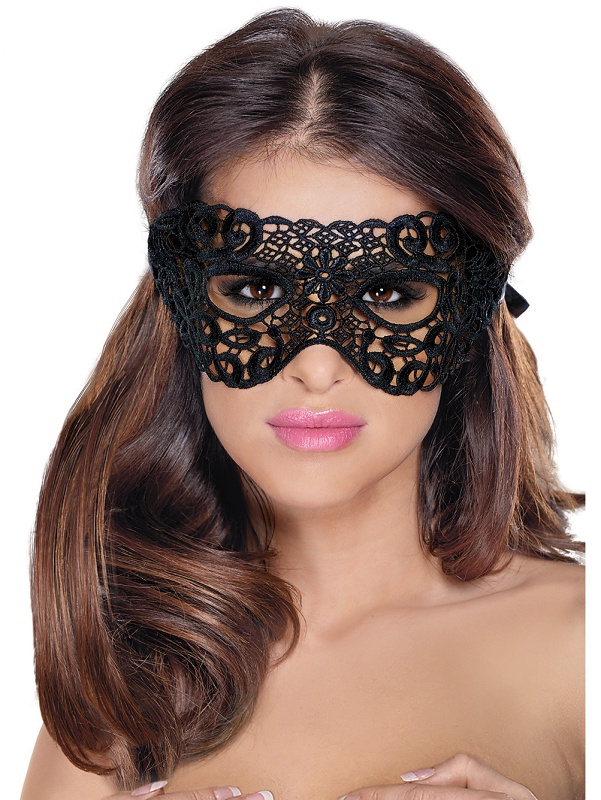 Roxana: Eye Mask, One Size, svart