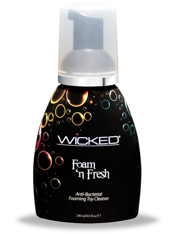 Wicked: Foam 'n Fresh, Anti-Bacterial Toy Cleaner, 240 ml