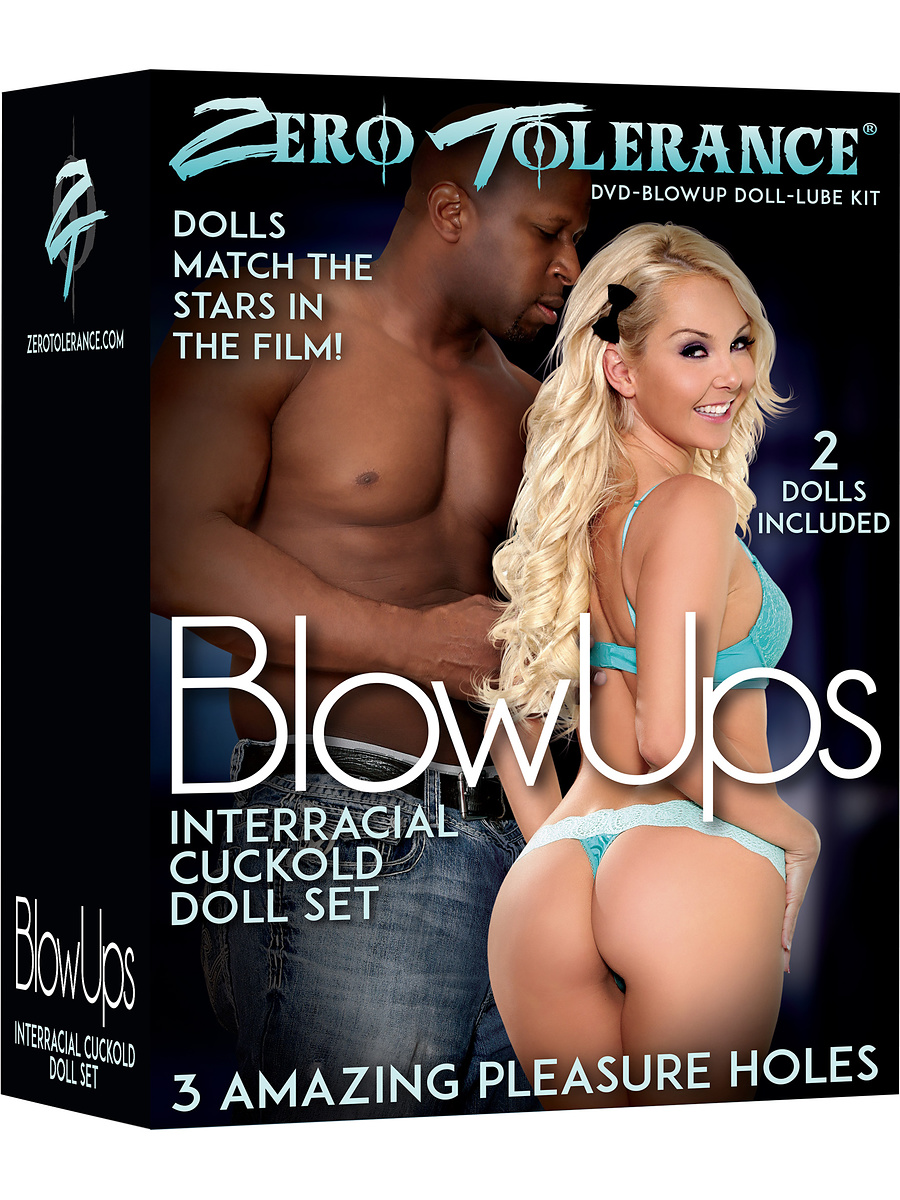 Zero Tolerance: BlowUps, Interracial Cuckold Doll Set