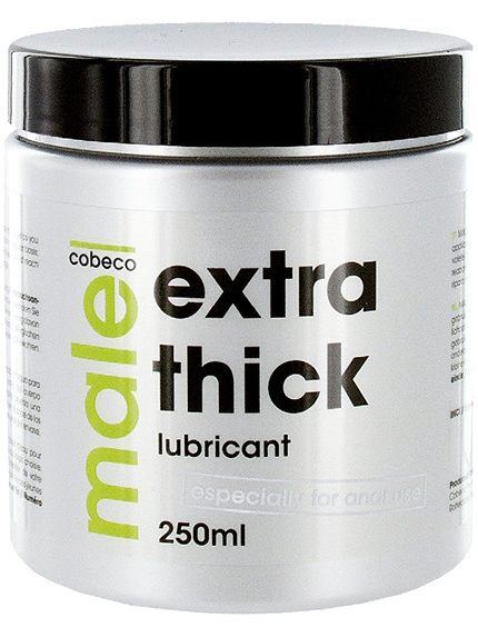 Cobeco: Male, Extra Thick Lubricant, 250 ml