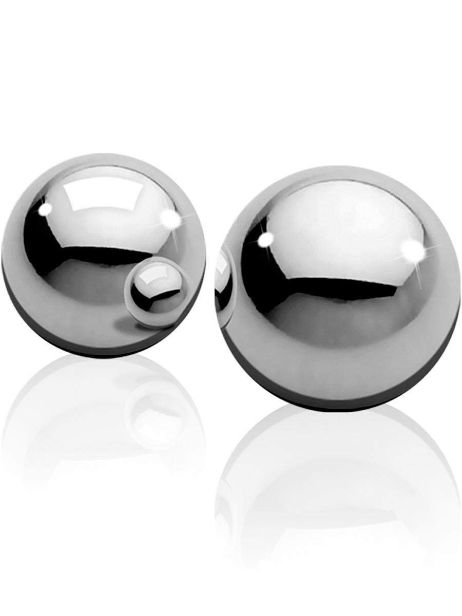 Ouch!: Heavy Weight Ben-Wa-Balls, silver