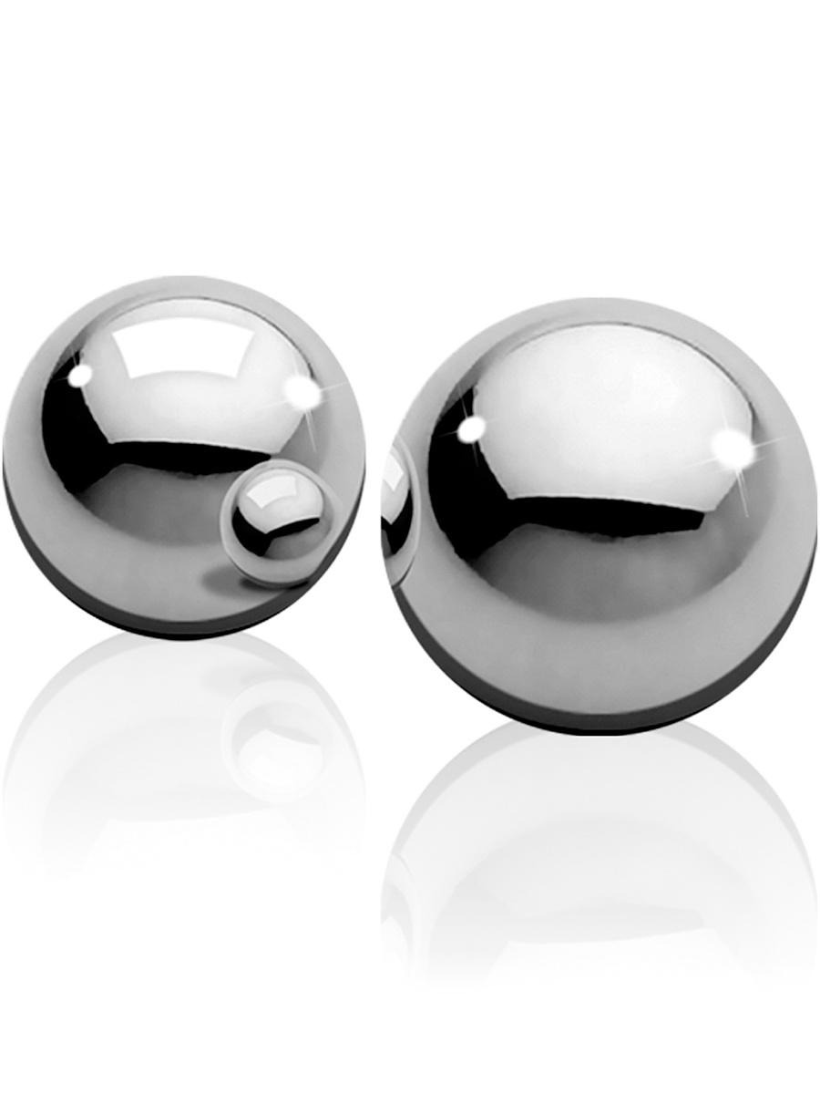 Ouch!: Medium Weight Ben-Wa-Balls, silver