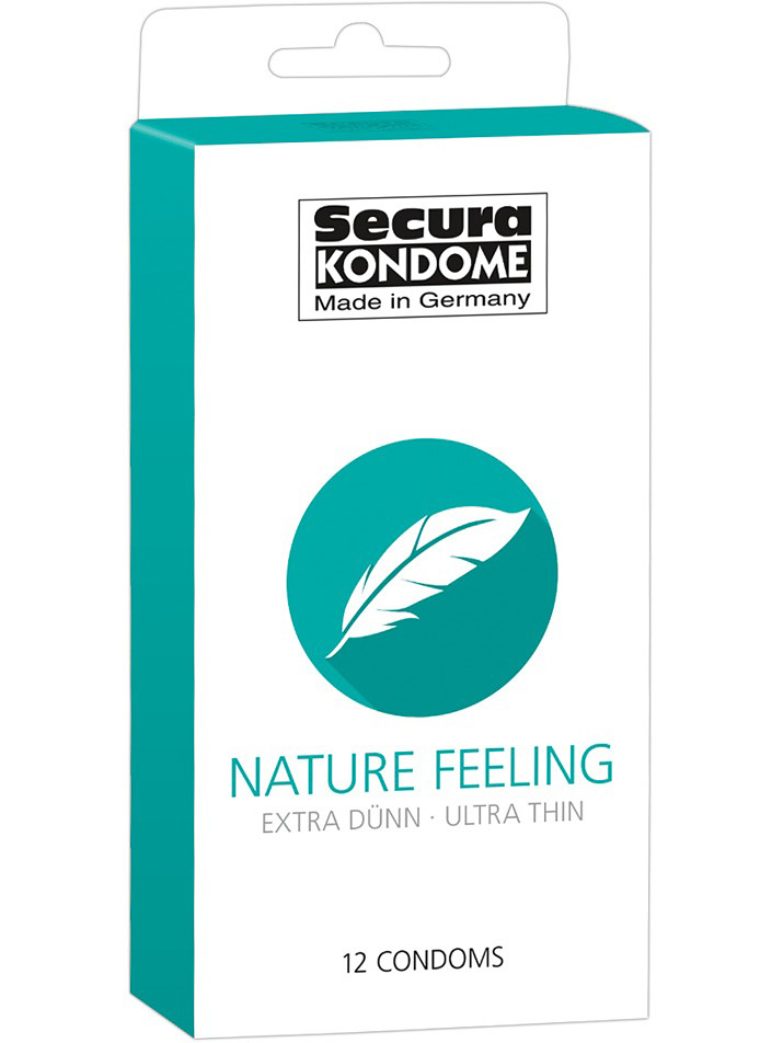 Secura: Nature Feeling, Kondomer, 12-pack | Kondomer | Intimast.se - Sexleksaker