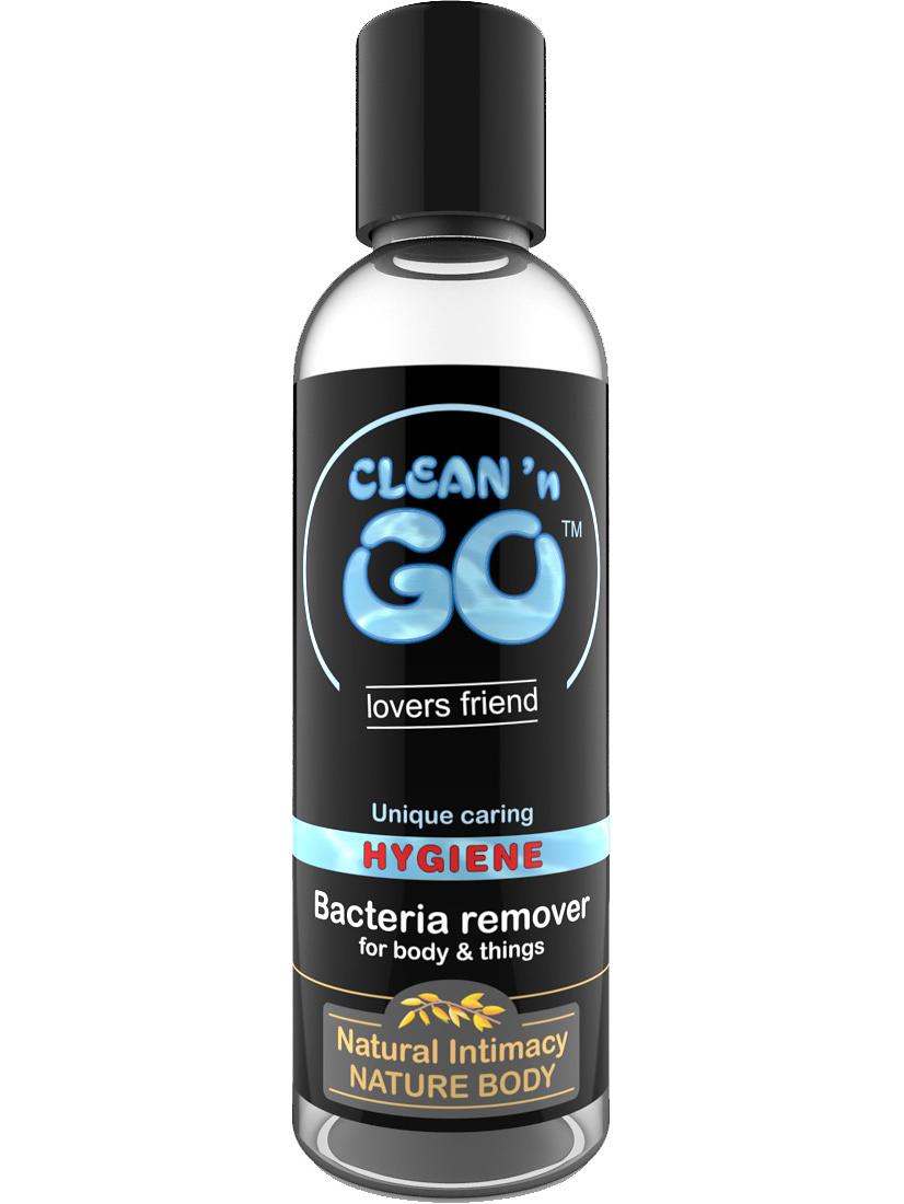 Nature Body: Clean 'n Go, Hygiene, Bacteria Remover, 100 ml | Rengöring av leksaker | Intimast.se - Sexleksaker