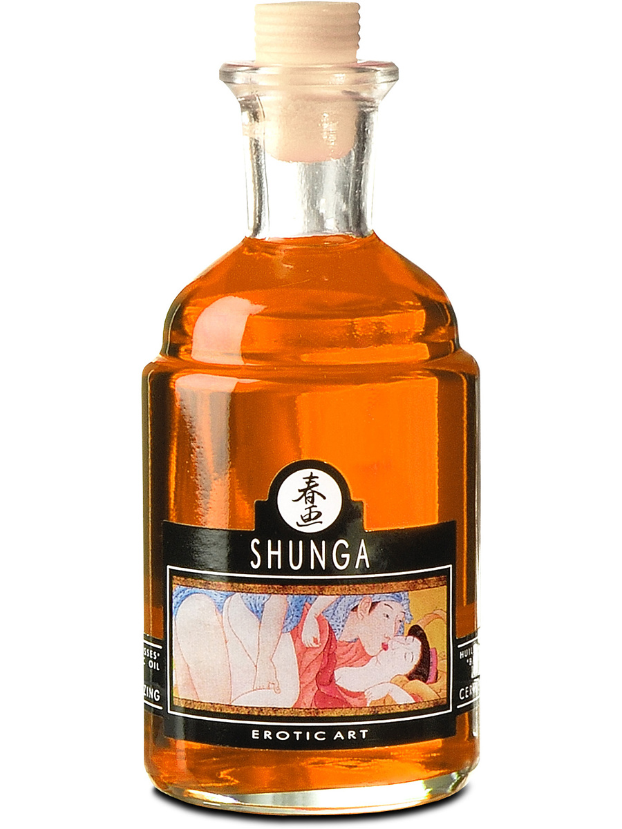 Shunga: Aphrodisiac Warming Oil, Orange, 100 ml