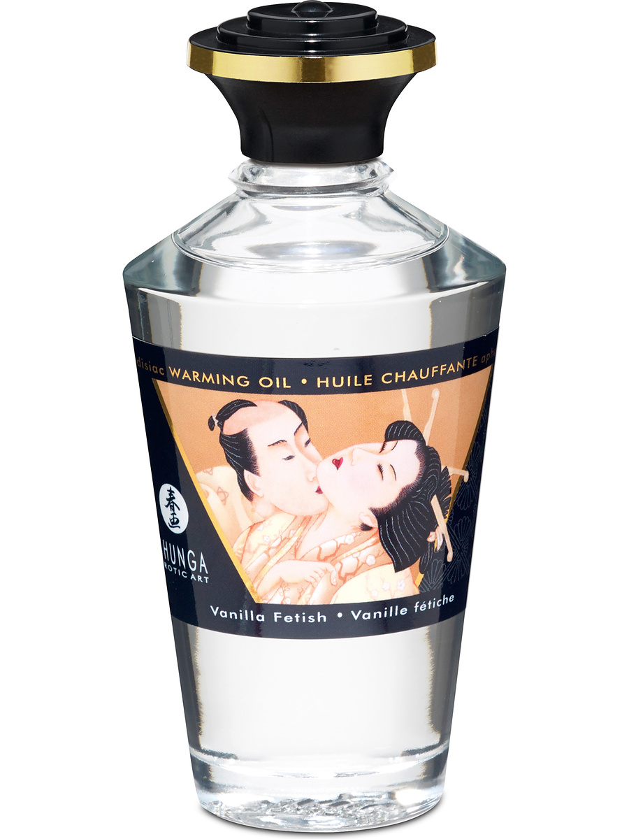 Shunga: Aphrodisiac Warming Oil, Vanilla Fetish, 100 ml