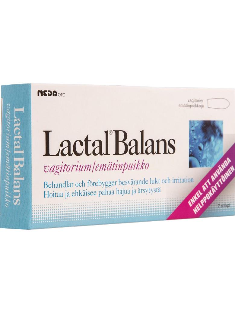 Lactal Balans: Vagitorer, 7 st