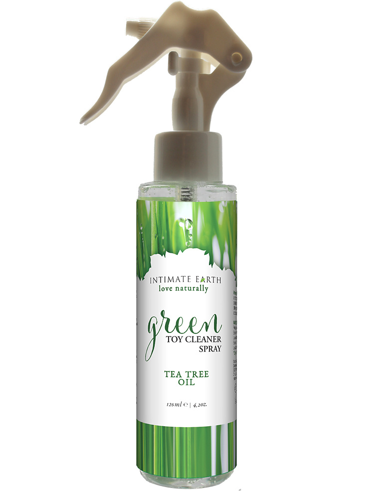 Intimate Earth: Green Toy Cleaner Spray, Tea Tree Oil, 125 ml