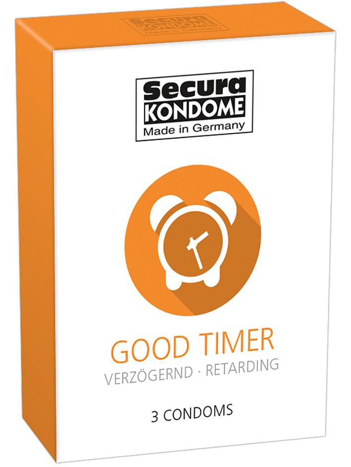 Secura: Good Timer, Kondomer, 3-pack