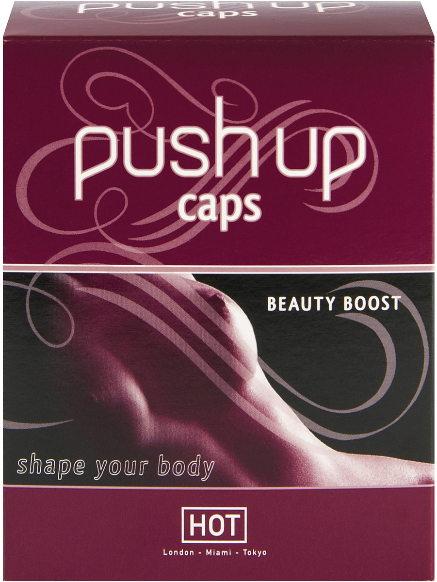Hot: Push Up Caps, 90 tabletter