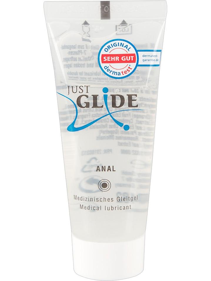 Just Glide Anal: Vattenbaserat Glidmedel, 20 ml | Glidmedel | Intimast.se - Sexleksaker