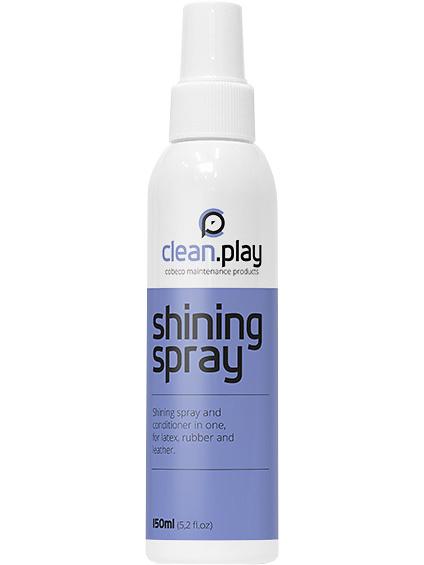 Cobeco: CleanPlay, Shining Spray, 150 ml | Leksaksrengöring | Intimast.se - Sexleksaker