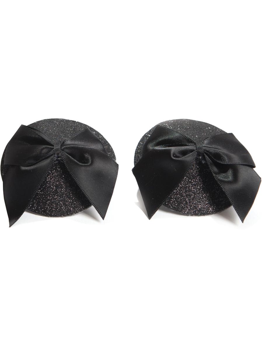 Bijoux Indiscrets: Burlesque Pasties, Glitter & Satin Bow