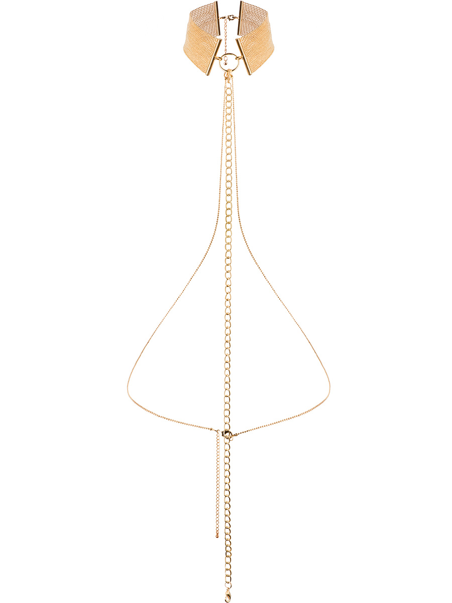 Bijoux Indiscrets: The Magnifique Collection, Metallic Chain Choker