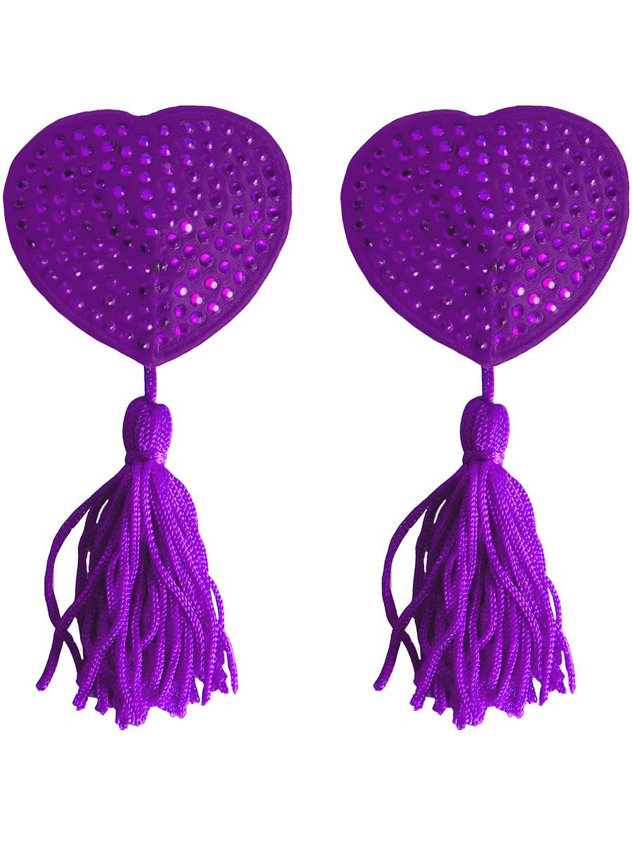 Ouch!: Nipple Tassels, lila