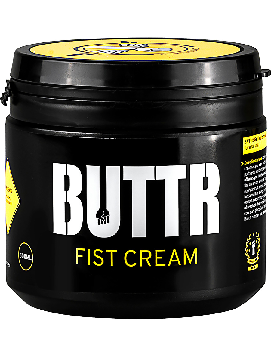 BUTTR: Fist Cream, 500 ml   Glidmedel   Intimast.se - Sexleksaker