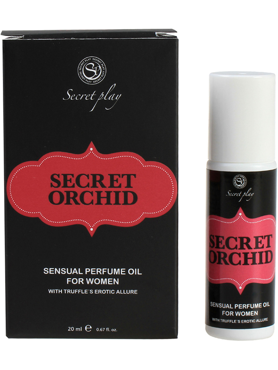 Secret Play: Secret Orchid, Sensual Perfume Oil for Woman, 20 ml