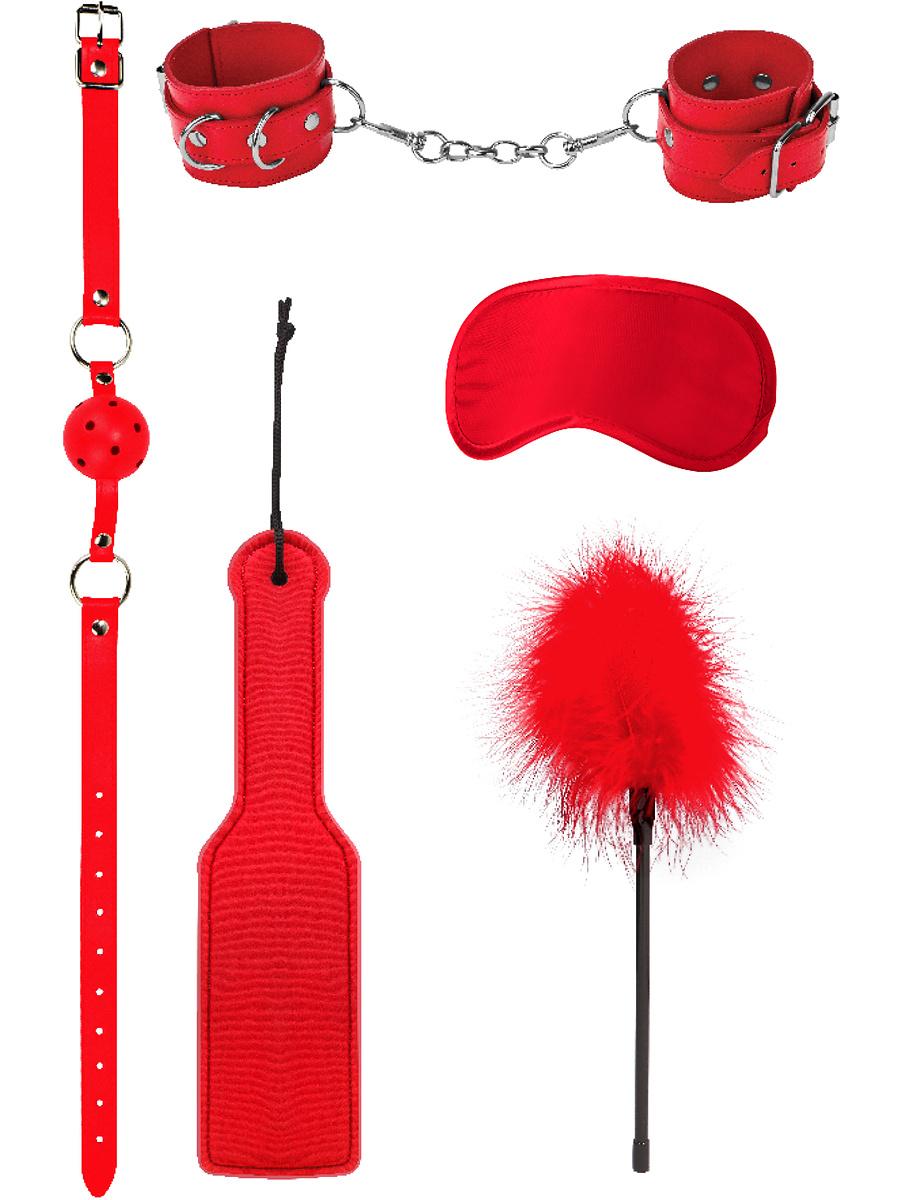 Ouch!: Introductory Bondage Kit #4, röd