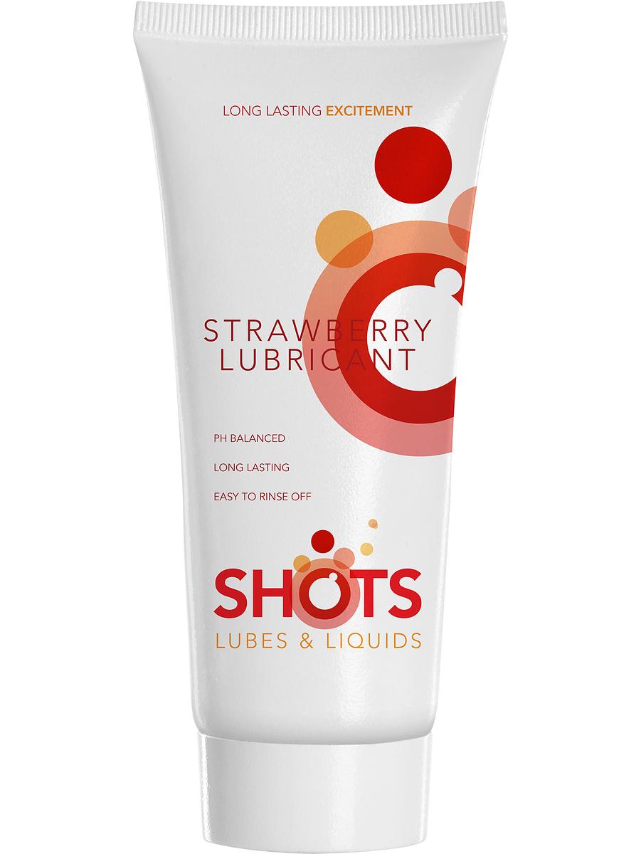 Shots Lubes & Liquids: Strawberry Lubricant, 100 ml