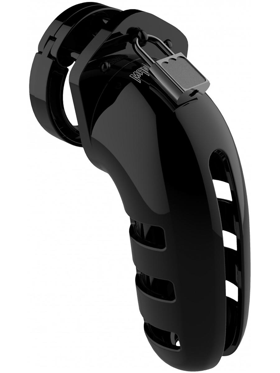ManCage: Model 06, 14 cm, svart