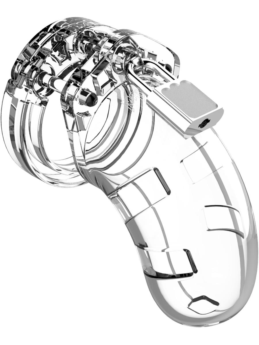 ManCage: Model 13, 6.4 cm, transparent