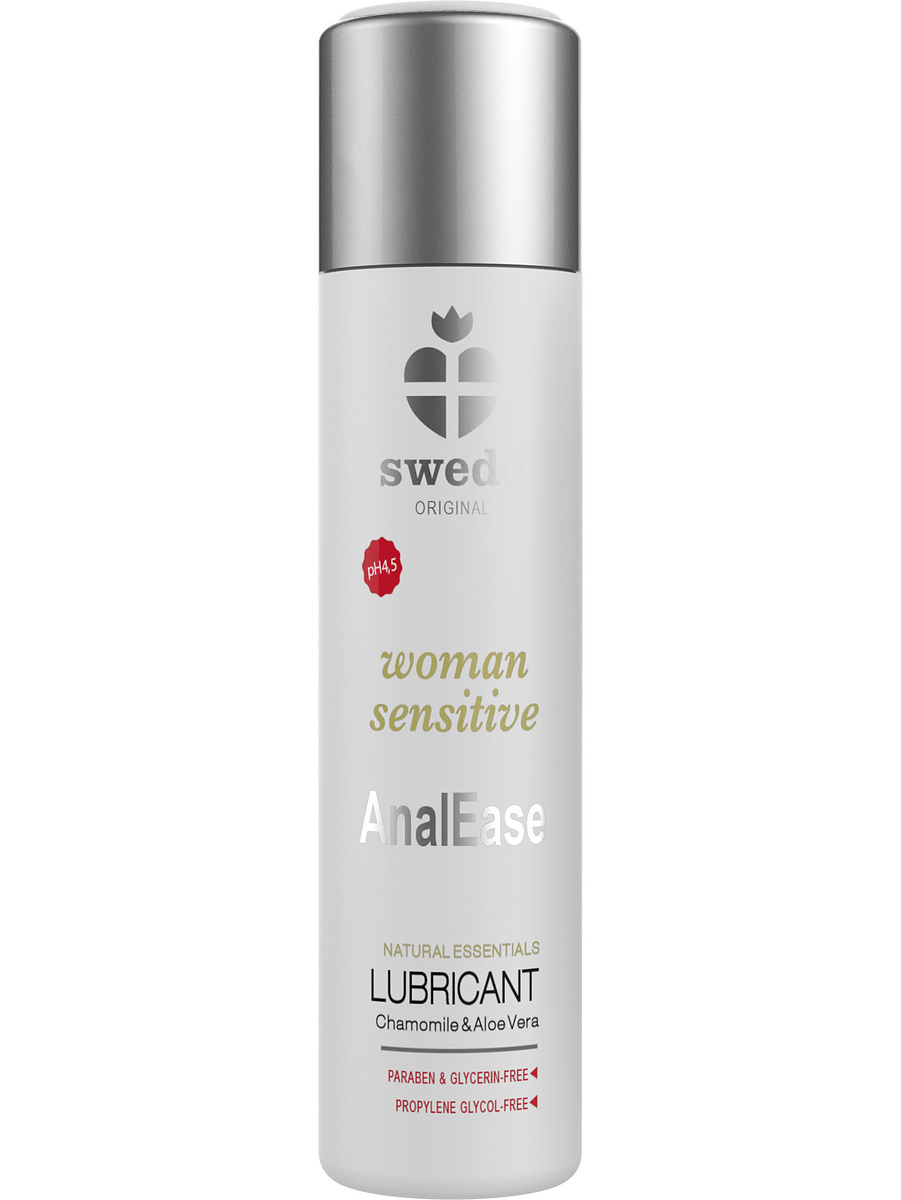 Swede: Woman Sensitive, AnalEase Lubricant, 120 ml
