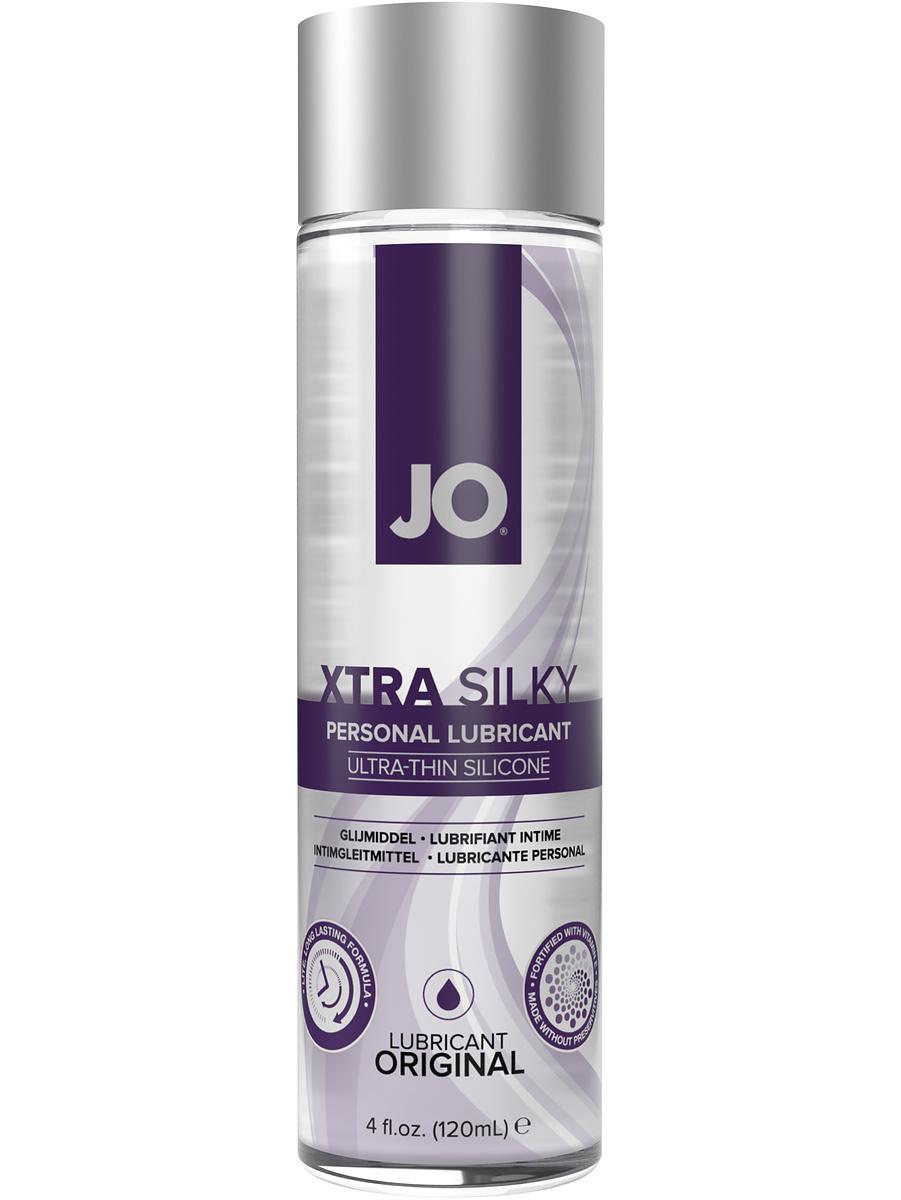 System JO: Xtra Silky, Ultra-Thin Silicone Lubricant, 120 ml