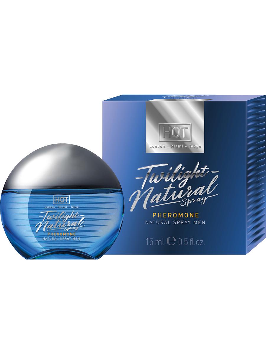Hot: Twilight Pheromone, Natural Spray Men, 15 ml