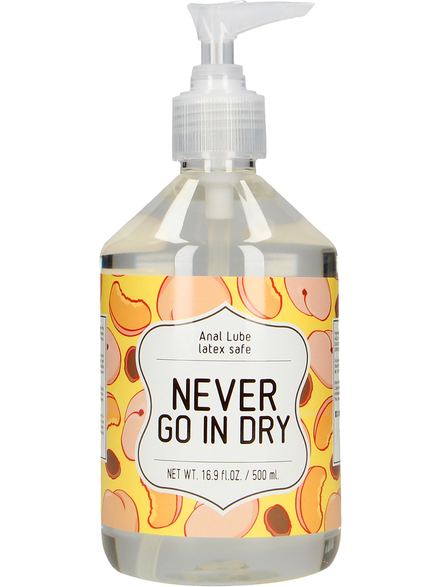 S-Line: Anal Lube, Never Go In Dry, 500 ml