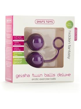 Shots Toys: Geisha Twin Balls Deluxe, lila