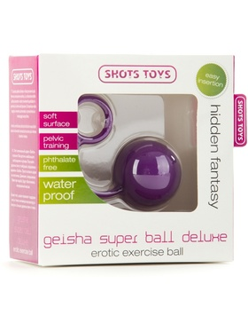 Shots Toys: Geisha Super Ball Deluxe, lila