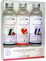 Catchlife: I Love You Massage, Gift Box, 3x75 ml