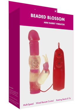 Minx: Beaded Blossom, Mini Rabbit Vibrator
