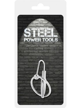 Steel Power Tools: Penisplugg med Ollonring, 30 mm